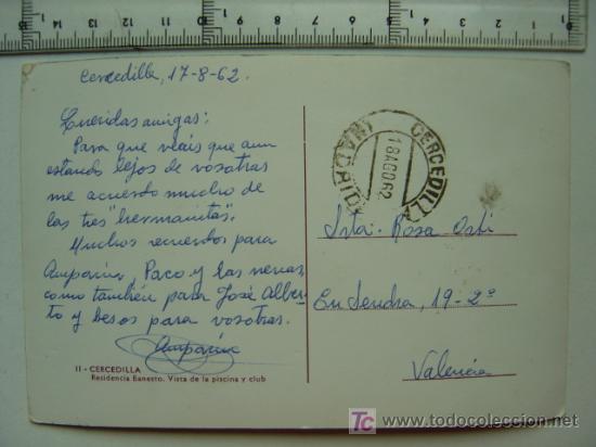 Postales: CERCEDILLA (MADRID) - Foto 2 - 6513611