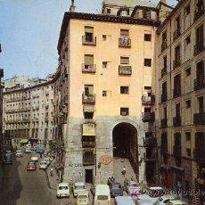 Postales: MADRID. ARCO DE CUCHILLEROS. Lote 6521281