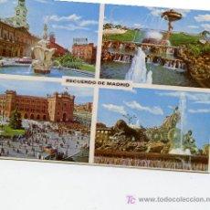 Postales: RECUERDO DE MADRID. Lote 6521334