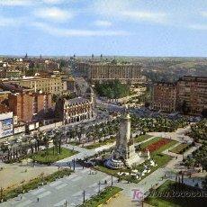 Postales: MADRID. PLAZA DE ESPAÑA Y PALACIO REAL. Lote 6521632