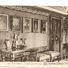 Postales: EL ESCORIAL - CASITA DEL PRÍNCIPE - SALA DE LOS RETRATOS. Lote 6739015