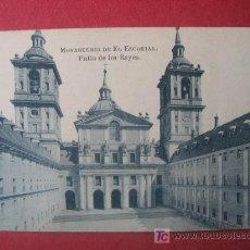 Postales: MONASTERIO DE EL ESCORIAL - PATIO DE LOS REYES. Lote 8499920