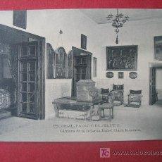 Postales: ESCORIAL - PALACIO DE FELIPE II - CAMARA DE LA INFANTA ISABEL CLARA EUGENIA. Lote 7027816