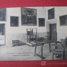 Postales: ESCORIAL - PALACIO DE FELIPE II - ANTESALA DE AUDIENCIAS. Lote 7027907