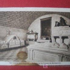 Postales: SAN LORENZO DE EL ESCORIAL - PANTEON DE LOS DUQUES DE MONTPENSIER. Lote 7041145