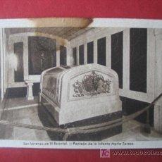 Postales: SAN LORENZO DE EL ESCORIAL - PANTEON DE LA INFANTA MARIA TERESA. Lote 7041162
