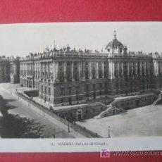 Postales: MADRID - PALACIO DE ORIENTE. Lote 7041247