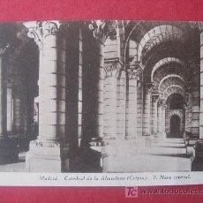 Postales: MADRID - CATEDRAL DE LA ALMUDENA - (CRIPTA ). Lote 7057732