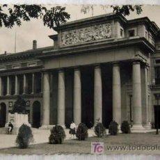 Postales: POSTAL PUERTA DE VELÁZQUEZ DEL MUSEO DEL PRADO MADRID AÑOS 50. Lote 278369418