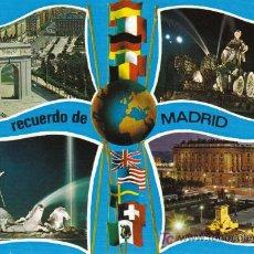 Postales: POSTAL DE MADRID Nº71, MONUMENTOS VARIOS. Lote 7498459