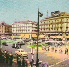 Postales: MADRID -PUERTA DEL SOL +++EDICIONES F.R CIRCULADA 1964. Lote 7510314