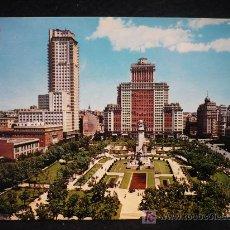 Postales: MADRID PLAZA DE ESPAÑA. SIN CIRCULAR.. Lote 7583844