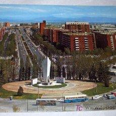 Postales: ANTIGUA POSTAL DE MADRID PLAZA DE CASTILLA - AÑO 1981 - ESCRITA PERO NO CIRCULADA - EN -. Lote 23213777