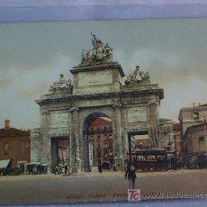 Cartes Postales: MADRID. PUERTA DE TOLEDO. POSTAL ORIGINAL. Lote 7720863