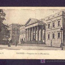 Cartoline: POSTAL DE MADRID: CONGRESO DE LOS DIPUTADOS (ED.IMP.DE A.PEREZ NUM.3). Lote 7747801