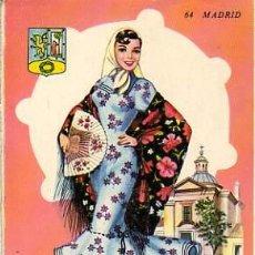 Postales: POSTAL TRAJE TIPICO DE MADRID. Lote 7777253