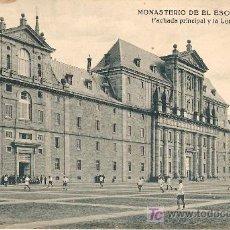 Postales: MADRID.EL ESCORIAL. Lote 7888481