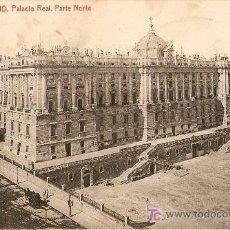 Postales: PALACIO REAL.PARTE NORTE. Lote 7889006