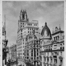 Postales: POSTAL - MADRID - PALACIO DE LA TELEFONICA. Lote 14022209