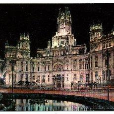 Postales: MADRID Nº 31 - PALACIO DE COMUNICACIONES (DOMINGUEZ). Lote 8126982