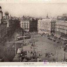 Postales: MADRID .PUERTA DEL SOL.CIRCULADA . VER FOTO ADICIONAL.. Lote 26222168