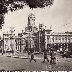 Postales: MADRID . 46 - PALACIO DE COMUNICACIONES. CIRCULADA . VER FOTO ADICIONAL.. Lote 21477267
