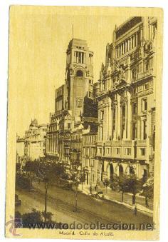 POSTAL MADRID .. CALLE DE ALCALÁ (Postales - España - Comunidad de Madrid Antigua (hasta 1939))