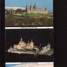 Postales: MONASTERIO DEL ESCORIAL - FOLLETO CON 8 POSTALES 1995. Lote 8836985
