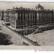 Postales: 5 MADRID - PALACIO DE ORIENTE. Lote 26495152
