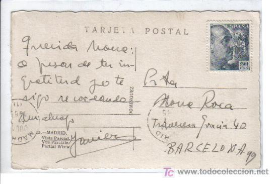 Postales: 15 Madrid - Vista parcial - Foto 2 - 26495153