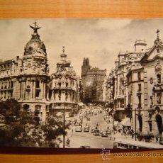 Postales: POSTAL MADRID AVENIDA DE JOSE ANTONIO CIRCULADA. Lote 8943469