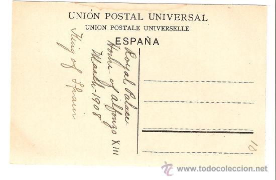 Postales: Madrid - Estación del Norte y Palacio Real - Foto 2 - 8987293