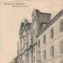Postales: ALCALÁ DE HENARES. CALLE DE LIBREROS. (HAUSER Y MENET). . Lote 16405865
