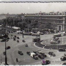 Postales: 38 MADRID - BANCO DE ESPAÑA Y PASEO DEL PRADO. Lote 26637755