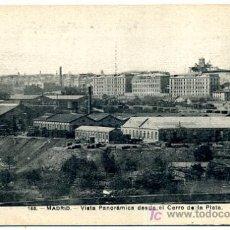 Postales: MADRID , FOT. LACOSTE , VISTA PANORAMICA DESDE EL CERRO DE LA PLATA , P19557. Lote 18180929