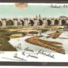 Postales: MADRID. PUENTE DE TOLEDO. COLEC. ROMO Y FÜSSEL -VISTAS Nº 917. SIN DIVIDIR. Lote 27330875