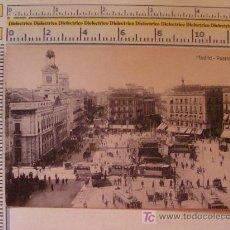 Postales: POSTAL DE MADRID. PUERTA DEL SOL. TRANVÍAS. 1910-1920. . Lote 9571880