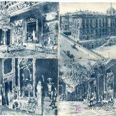 Cartoline: MADRID. LOTE 19 POSTALES PALACIO REAL. GRAFOS. NUEVAS, SIN CIRCULAR (VER FOTOS ADICIONALES). Lote 26674951