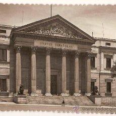 Postales: ANTIGUA POSTAL 118 MADRID PALACIO DE LAS CORTES ESPAÑOLAS CIRCULADA 1955. Lote 9662110