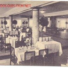 Postales: TARJETA POSTAL DE MADRID HOTEL NACIONAL, RESTAURANT. Lote 4507481