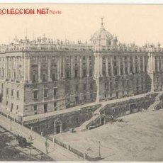 Postales: MADRID - 99 PALACIO REAL - PARTE NORTE. Lote 23421852