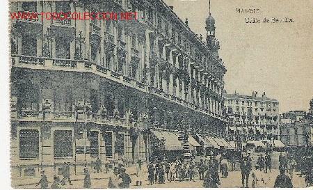 MADRID. CALLE SEVILLA (Postales - España - Comunidad de Madrid Antigua (hasta 1939))