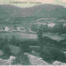 Postales: BONITA POSTAL DE MADRID CERCEDILLA. Lote 1700667