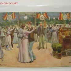 Postales: MADRID - EL AGARRAO. Lote 1361148