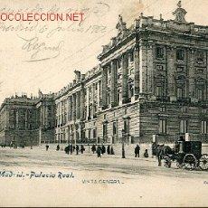 Postales: TARJETA PSOTAL DE MADRID Nº 146 - PALACIO REAL,VISTA GENERAL. FOT. LACOSTE - MADRID. Lote 7005072
