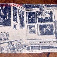 Postales: ANTIGUA POSTAL DE MADRID - EL ESCORIAL - CASITA DEL PRINCIPE - SALA DEL BARQUILLO- MATEU S.A.- SIN. Lote 1855154