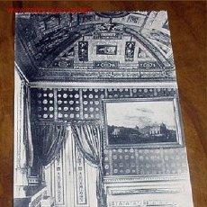 Postales: ANTIGUA POSTAL DE MADRID - EL ESCORIAL - CASITA DEL PRINCIPE - SALA ENCARNADA- MATEU S.A.- SIN CIR. Lote 1855165