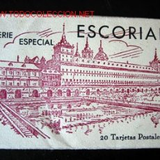 Postales: ESCORIAL - 20 TARJETAS POSTALES - SERIE ESPECIAL. Lote 3649880