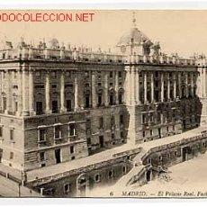Postales: MADRID. EL PALACIO REAL, FACHADA NORTE. Lote 2405160