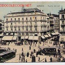 Postales: MADRID. PUERTA DEL SOL. Lote 2437603